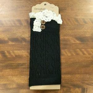 Boot cuffs - hand crochet
